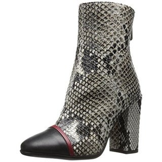 Just Cavalli Womens Booties Leather Cap Toe