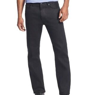Sean John NEW Overdyed Black Mens Size 40 T Classic Straight Leg Jeans