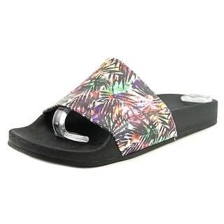 Esprit March Women Open Toe Synthetic Multi Color Slides Sandal