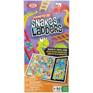 Magnetic Go Travel Game-Snakes N' Ladders