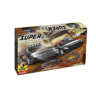 Link to JOYSWAY Super 254 USB Power Slot Car Racing set Similar Items in Toy Vehicles
