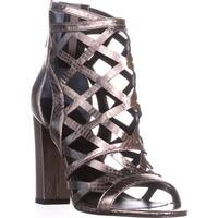 Guess Eriel2 Dress Sandals, Pewter - 7.5 us
