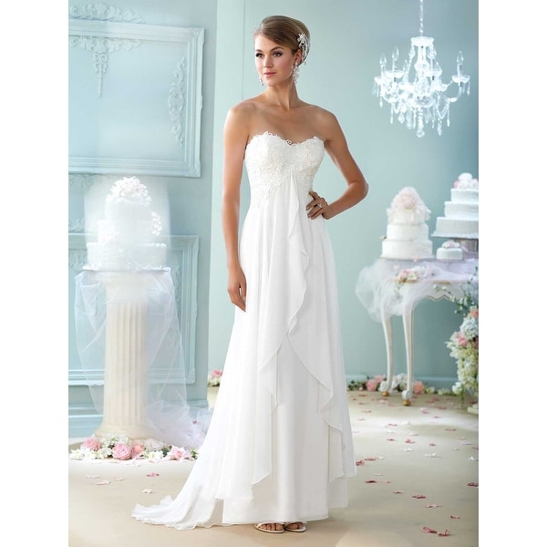 Shop Mon Cheri Bridal Gowns - Free Shipping Today - Overstock.com ...