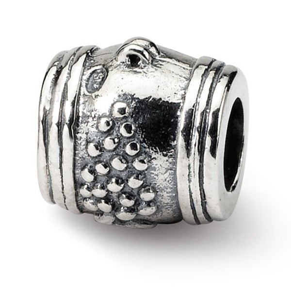 Sterling Silver Reflections Grape Barrel Bead (4mm Diameter Hole)