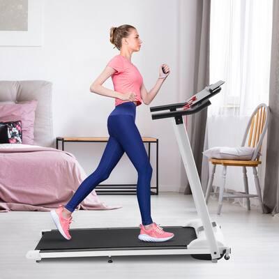 Fitness Folding Electric Treadmill Motorised Portable Running Machine