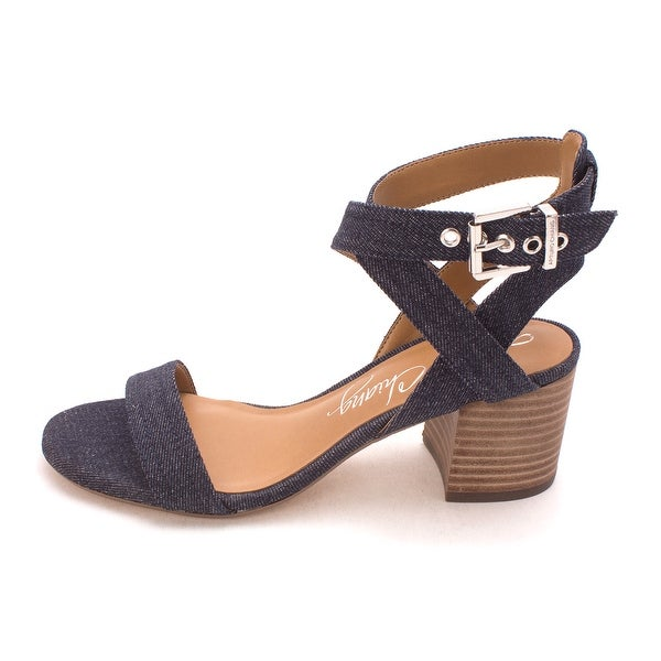 Arturo Chiang Womens Hammil Fabric Open Toe Casual Ankle Strap Sandals - 6