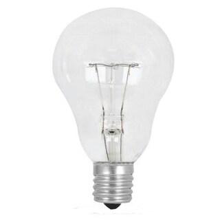 Feit Electric BP60A15N/CL/CF Clear Ceiling Fan Light Bulb, 60-Watt
