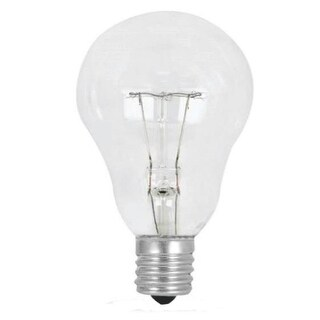 Feit Electric BP60A15N/CL/CF Clear Ceiling Fan Light Bulb, 60-Watt
