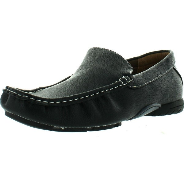 Miko Lotti Hm005 Men's Comfort Moccsin Slip On Boat Shoe Loafers