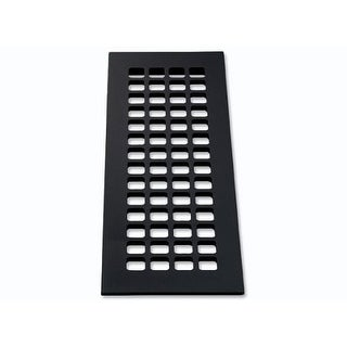 """Reggio Registers G616-AH Grid Series 14"""" x 4"""" Grille with Mounting Holes - N/A"""
