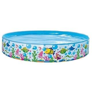 Kids Stuff Rigid Wall Swimming Pool Baby Pool - 47in x 10in