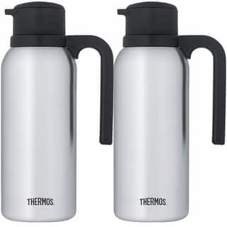 Thermos Vacuum Insulated 32 Ounce Compact Stainless Steel Carafe 2PK https://ak1.ostkcdn.com/images/products/is/images/direct/1e10831dac82be868cfd73fea9d6ff99ea5560f6/Thermos-Vacuum-Insulated-32-Ounce-Compact-Stainless-Steel-Carafe-2PK.jpg?impolicy=medium