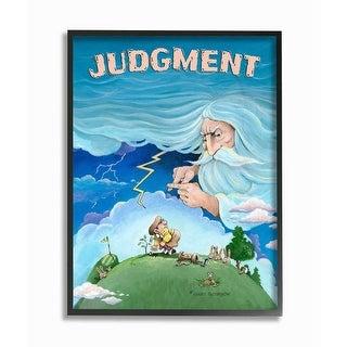 Link to Stupell Industries Judgement Funny Golf Cartoon Sports Design Framed Wall Art Similar Items in Canvas Art