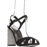 Caparros Hayley Ankle Strap Dress Sandals, Black - 9.5 us