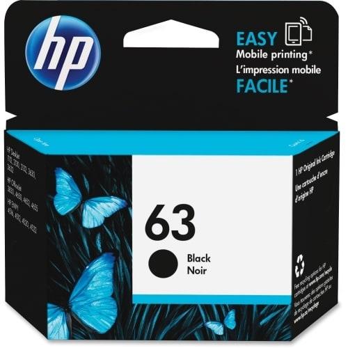 HP 63 Black Original Ink Cartridge (Single Pack) Ink Cartridge