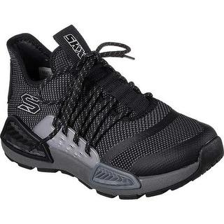 huge discount 6ec42 70b55 Skechers Boys Kinectors Megahertz Sneaker BlackCharcoal