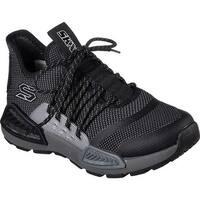 Skechers Boys' Kinectors Megahertz Sneaker Black/Charcoal