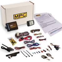 Complete 2-Way LCD Remote Start/Entry Kit For 2011-2014 Toyota Venza - Key to Start includes 5 Button LCD 2 Way Remote
