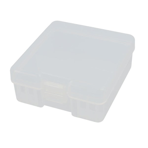 Transparent Storage Case Plastic Battery Box Holder Organizer for AAA Batteries