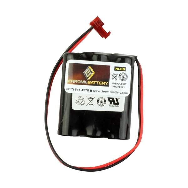 Emergency Lighting Replacement Battery for Cooper Industries -LPX70RWH