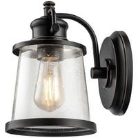 "Globe Electric 44127 Charlie Single Light 10"" High Outdoor Wall Sconce"