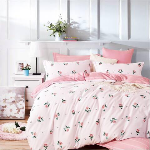 Isabella Rose Only 100% Cotton Reversible Comforter Set