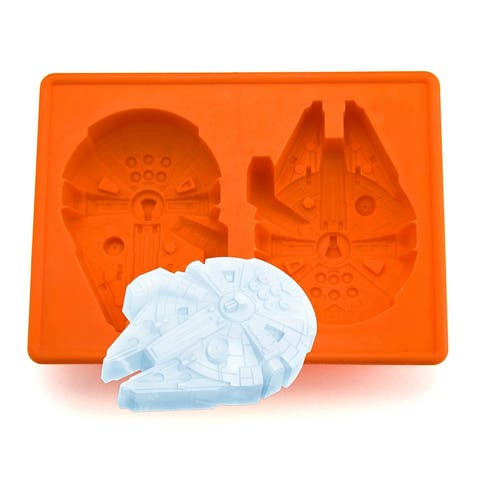 Star Wars Party Millennium Ice Tray Cube Chocolate Jello Silicone Molds Kid Fun