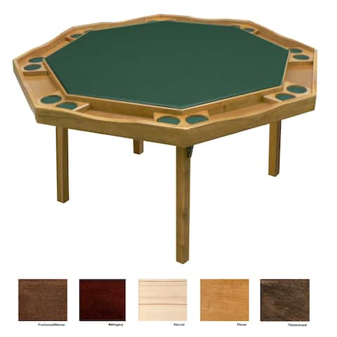 Kestell Maple Period Style Poker Table -Vinyl Playing Surface