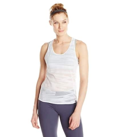 Puma Women's WT Mesh It up Layer Tank Top, X-Large, White