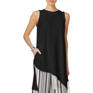 Cable & Gauge Womens Blouse Tunic Asymmetric