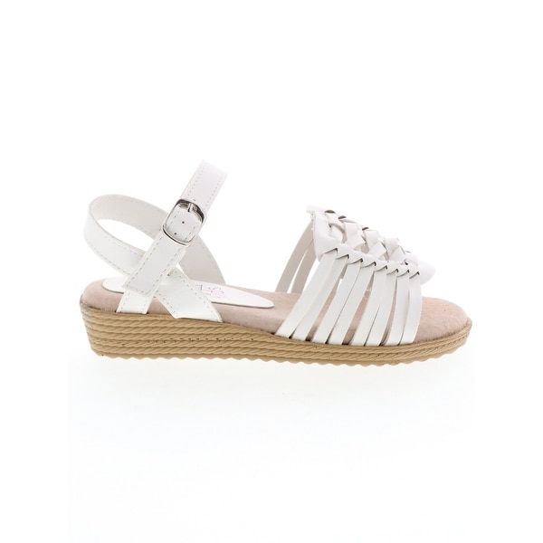 Shop Kids Volatile Girls Sandrine Buckle Ankle Strap Wedge Sandals ... d183a17e8b2a