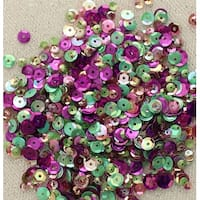 28 Lilac Lane Tin W/Sequins 40G-Violet Blossom