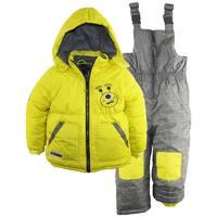 Rugged Bear Little Boys' Robot Winter 2 Piece Snowsuit Ski Bib Pant Set  2T