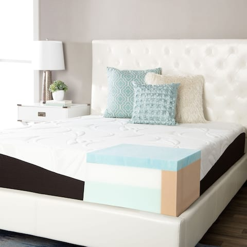 ComforPedic from Beautyrest Choose Your Comfort 12-inch Gel Memory Foam Mattress - White