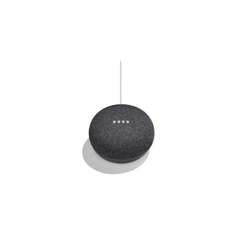 Google Home Mini Personal Home Assistant Digital Media Streamer - Charcoal GA00216-US