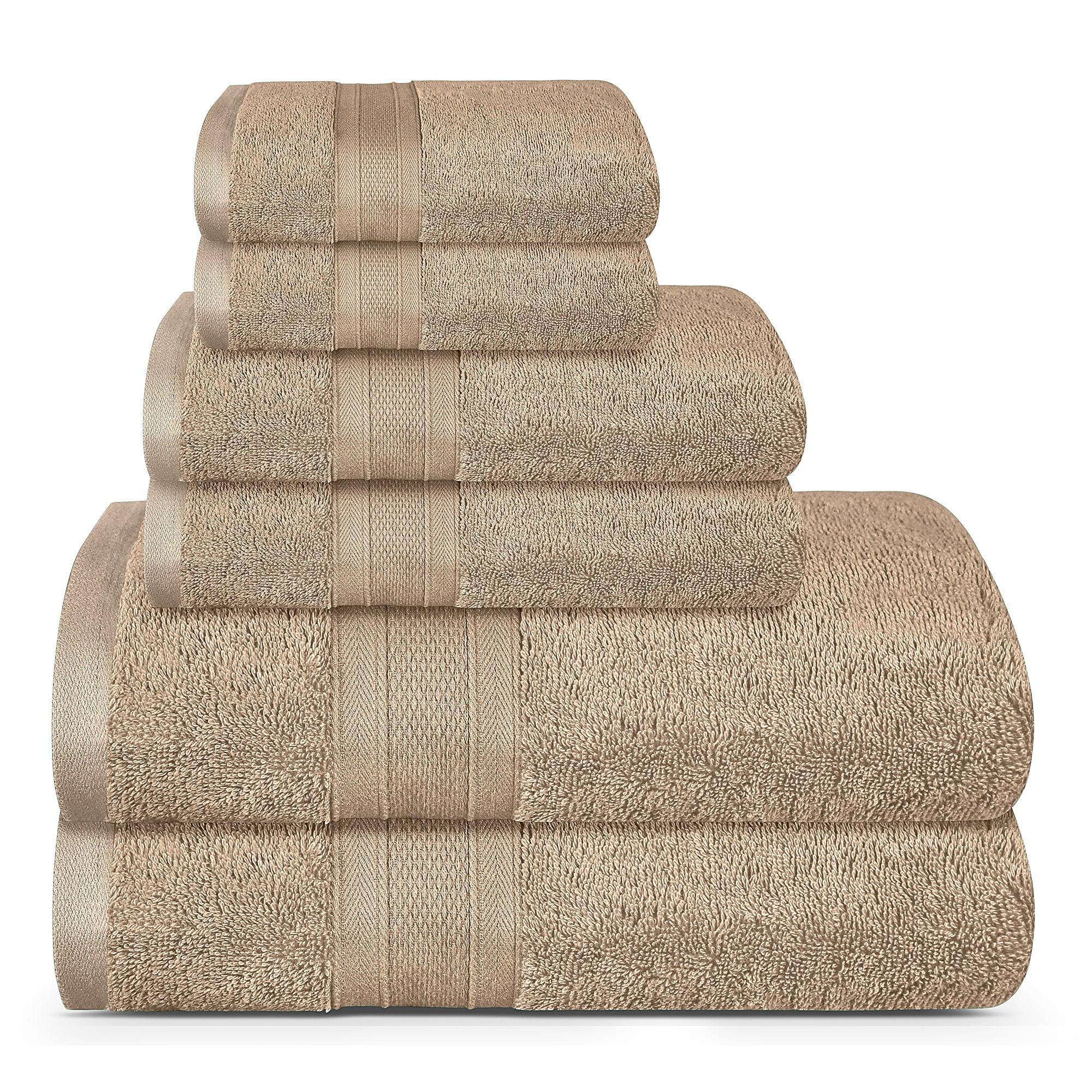 grace grand spa Guest Towel Black Grey 100/% Cotton G/ästetuch 30 x 50