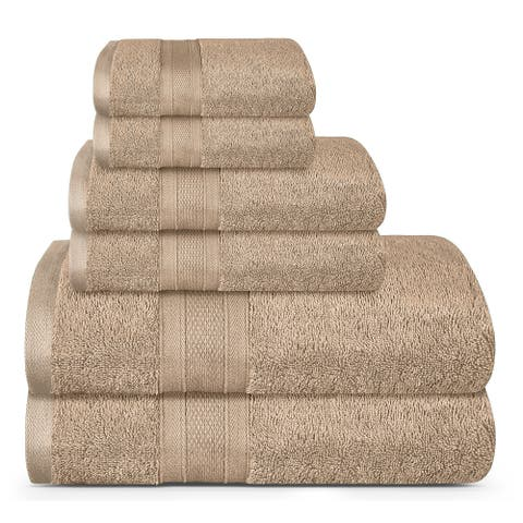 Feather Touch Pure Cotton Towel Set (500 GSM)
