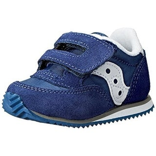Saucony Jazz Infant Boys Suede Crib Shoes