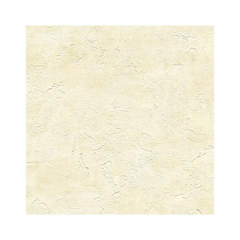 Plumant Beige Faux Plaster Texture Wallpaper - 27in x 324in x 0.025in