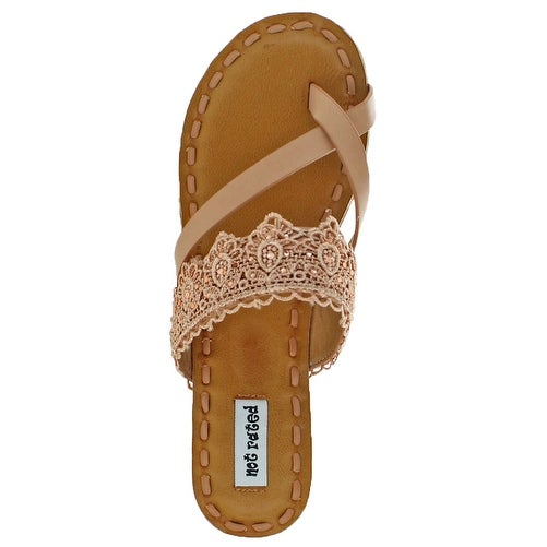 Not Rated She Women's Lace Beaded Sandal Shoes