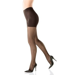 Spanx Tight-End Tights Textured Fishnets