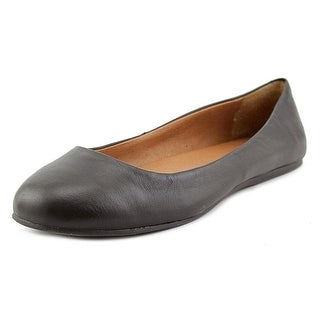 Lucky Brand Brenna Round Toe Leather Ballet Flats