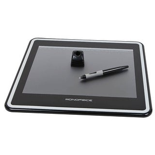 (Open Box) Monoprice 12x9in Graphic Drawing Tablet with 4000LPI 200RPS and 1024 Pressure Levels
