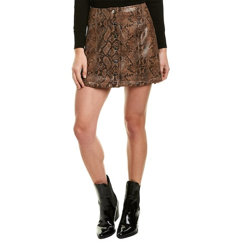 Astr The Label Come Slither Mini Skirt
