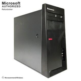 Lenovo M58 TW, Intel E8400 3.0GHz, 8GB, 500GB HDD, DVD, WIFI, BT 4.0, VGA, W10H64 (EN/ES)-Refurbished