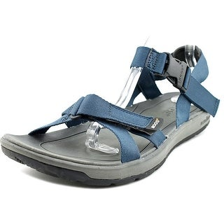 Bogs Rio Women Open-Toe Canvas Blue Slingback Sandal