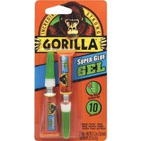 GORILLA GLUE CO 2X3g Super Glue Gel 7820002 Unit: EACH