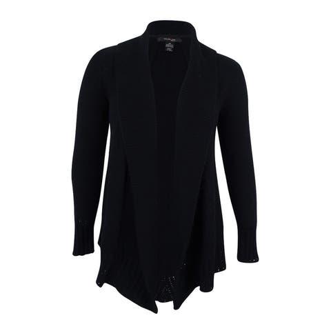 Style & Co. Women's Plus Size Shawl-Collar Cardigan