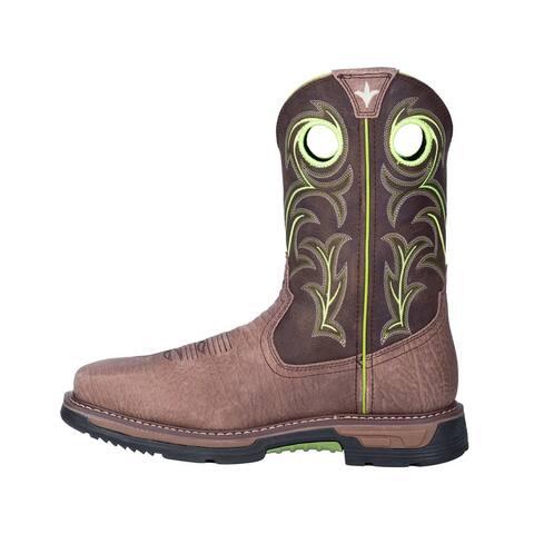 Dan Post Western Boots Mens Hurricane Leather Waterproof Brown