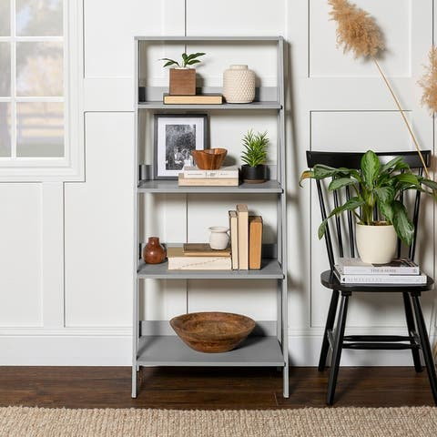Porch & Den Meadowlark 55-inch Ladder Bookshelf